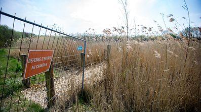 Frisange ,Naherholungsgebiet entlang der Saarautobahn in desolaten Zustand. Foto:Gerry Huberty