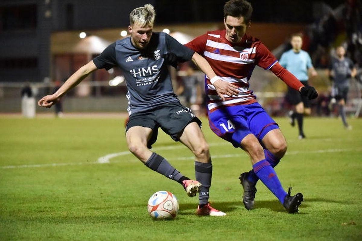 Tristan Grivel ne s'est pas imposé au RM Hamm Benfica. Il tente sa chance à Käerjéng.