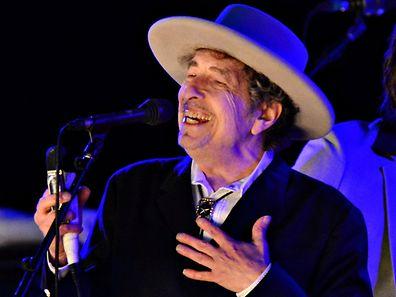 U.S. musician Bob Dylan