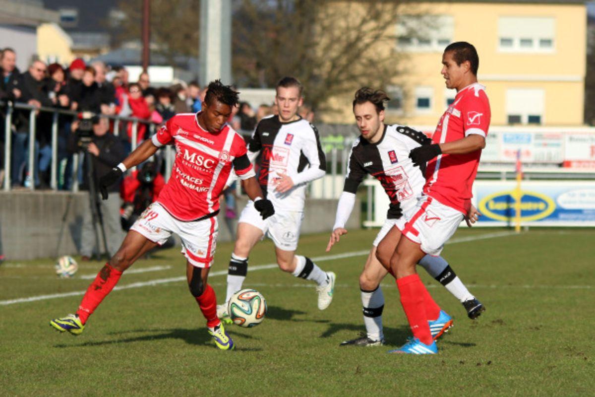 Gérard Mersch a fait preuve de réalisme mais son but n'a pas suffi au FC Wiltz pour battre l'UNK.