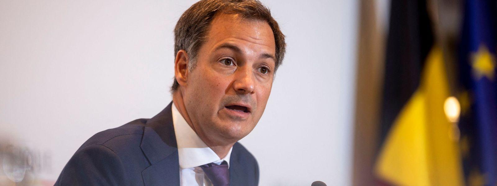 Le Premier ministre belge a clairement désigné la non-vaccination anti-covid comme l'ennemi public n°1.