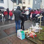 Centena de pessoas prestou homenagem à criança atropelada mortalmente em Wiltz