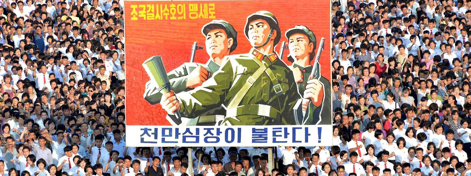 "Nordkorea will den USA mit ""absoluter Stärke"" begegnen."