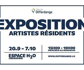 EXPOSITION des artistes résidents