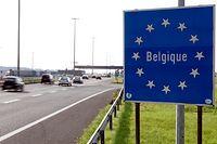 13.9. Belgique /Poste Frontiere  Sterpenich  Foto: Guy Jallay