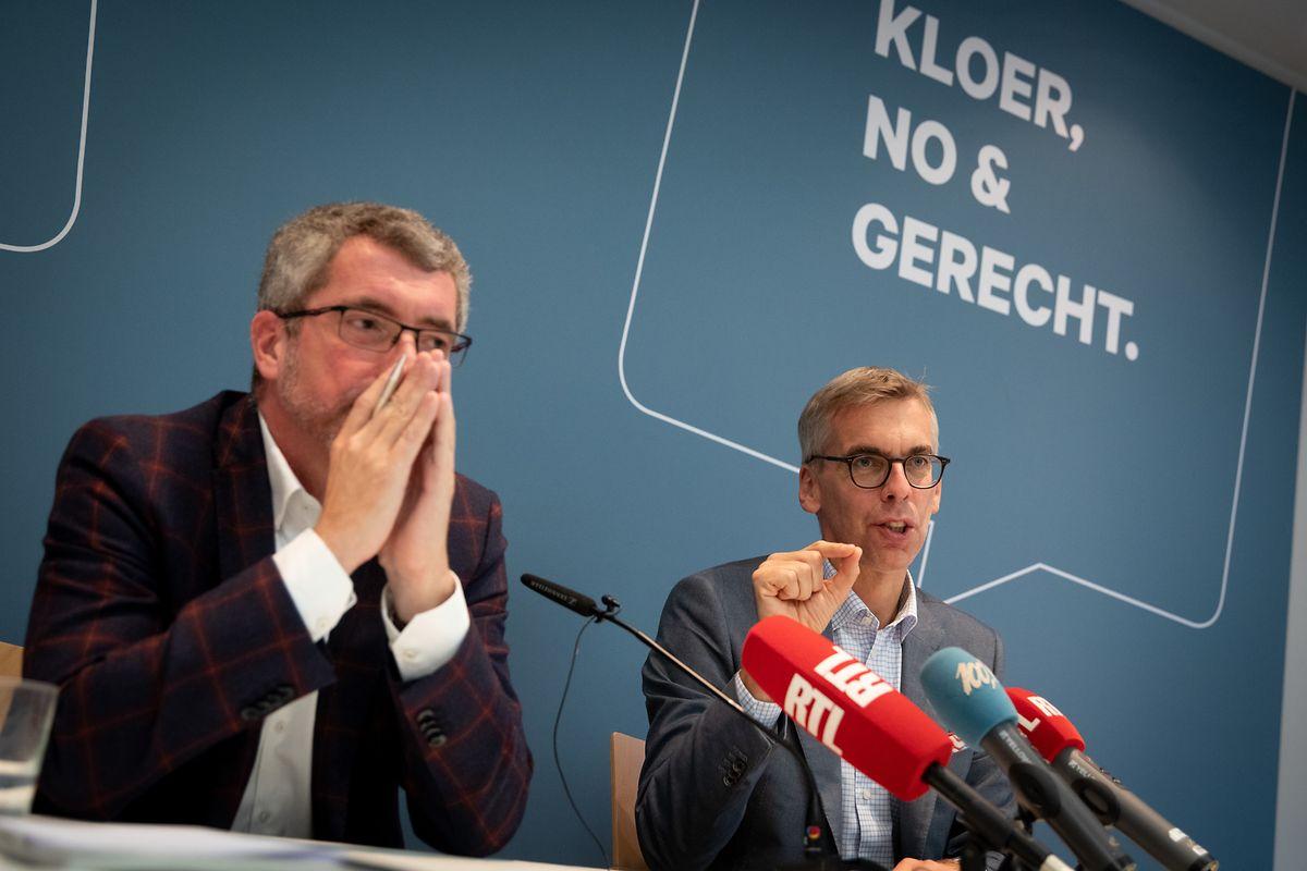 Frank Engel et Leon Gloden ont dénoncé, vendredi, la manière de faire du gouvernement pour imposer la réforme de la Cour.