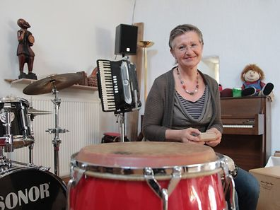 Marianne Wiltgen-Savania praktiziert seit seit zwanzig Jahren den Beruf der Musiktherapeutin.