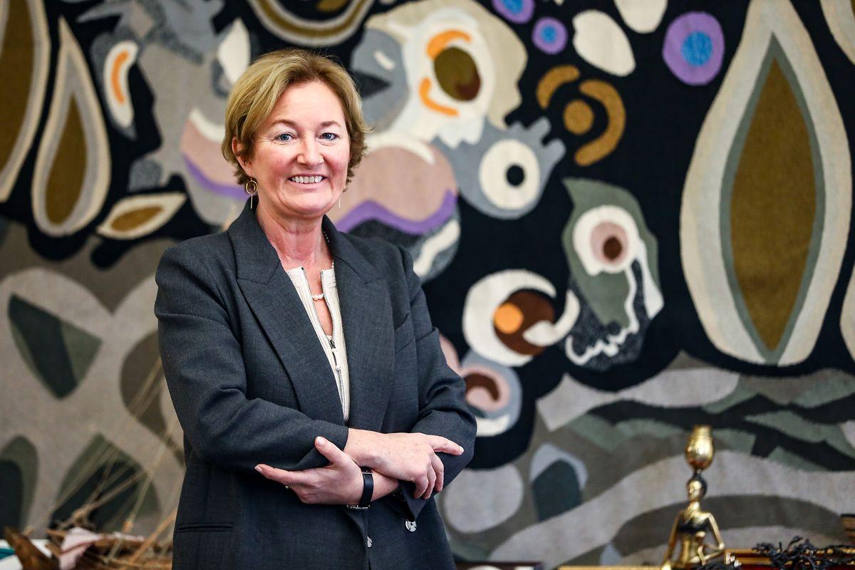 Paulette Lenert, Ministerin für Verbraucherschutz.