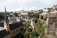 Lokales, Touristen, Tourismus, Sicht auf den Grund ,Altstadt  Foto: Anouk Antony/Luxemburger Wort
