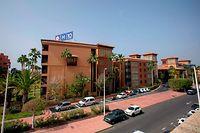 L'hôtel H10 Costa Adeje Palace à Tenerife où sont actuellement confinés un millier de touristes