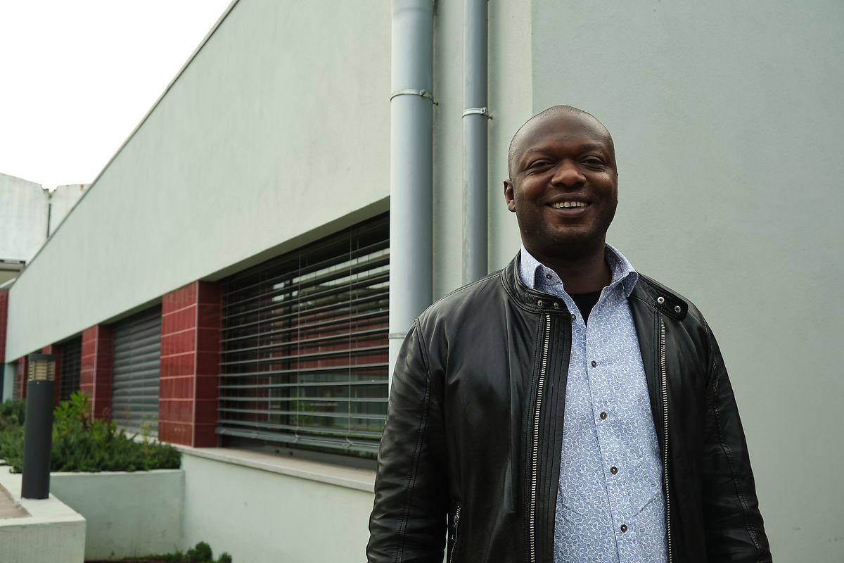 Diaby Abdouharamane é presidente da ARP e refugiado em Portugal desde 2006.