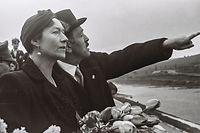 Grande Duchesse Charlotte, April 1945, Zerstörung des Landes, Tour durch Luxemburg, Zweiter Weltkrieg