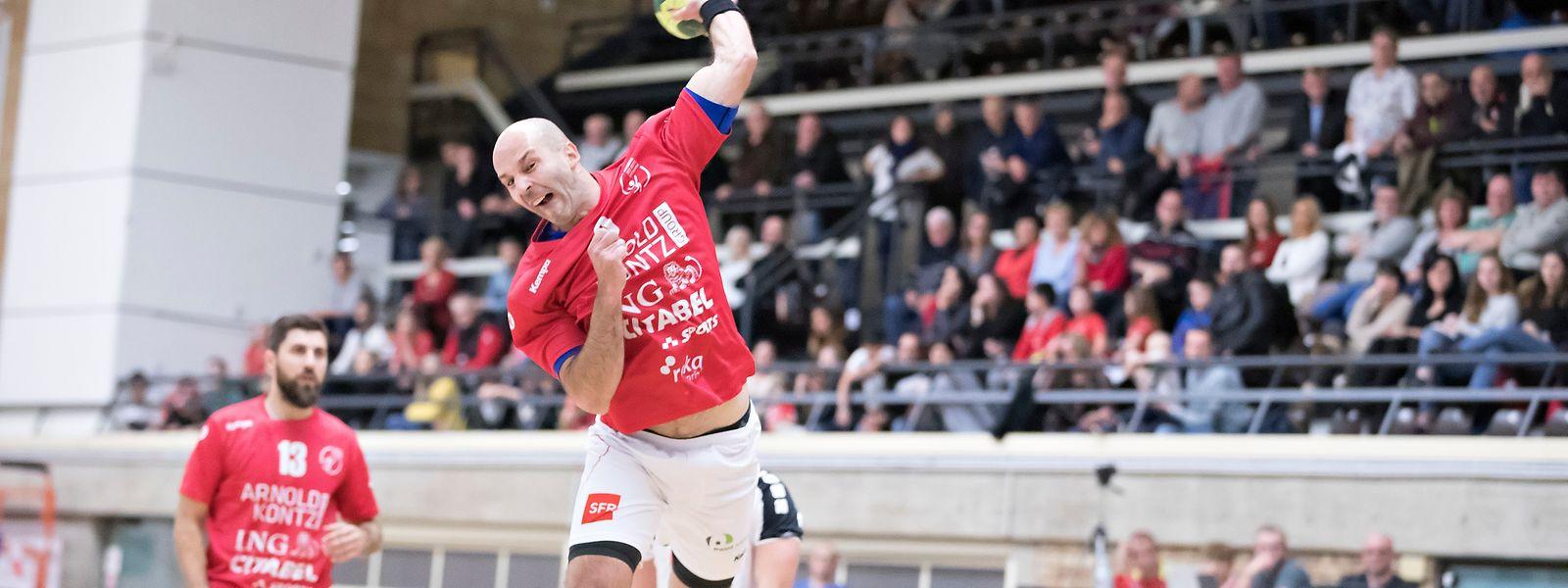 Marin Knez erzielte neun Treffer für die Red Boys.