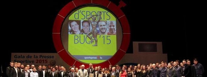 Grande première pour le gala de sportspress. Après le Casino 2000 de Mondorf, l'édition 2016 se déroule dans les installations de la Coque.