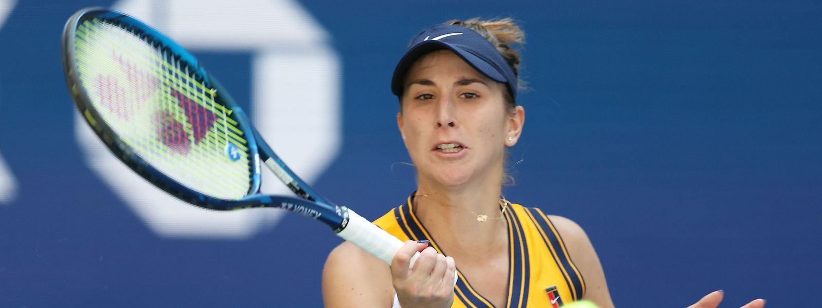 Belinda Bencic ist nach ihrem Aus bei den US Open bereit für das Turnier in Kockelscheuer.