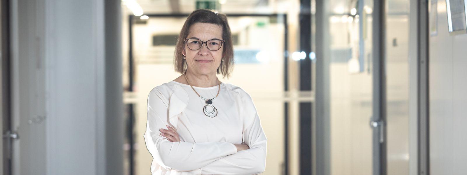 Entre la date de son arrivée à l'hôpital Kirchberg, voici plus de douze ans, et aujourd'hui, Manuela Pestana a vu le nombre d'employés affectés au nettoyage fondre de moitié.