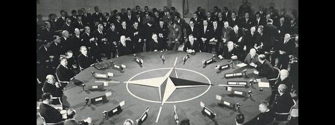 """Nato-Sitzung der Staats- und Regierungschefs 1952: Auch Luxemburg baute als Gründungsmitglied des Atlantischen Bündnisses eine """"Stay Behind""""-Truppe auf."""