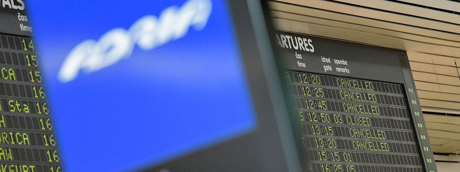 Adria Airways n'assure plus aucune liaison aérienne depuis ce début de semaine.