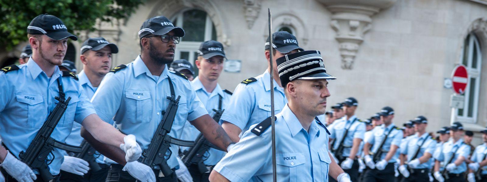 Laut SNPGL gibt es ausreichend Kandidaten für die Polizeischule, nur seien die Aufnahmetests zu schwer.