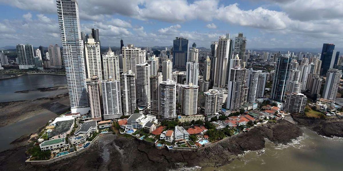 Ein Luftbild von Panama City.