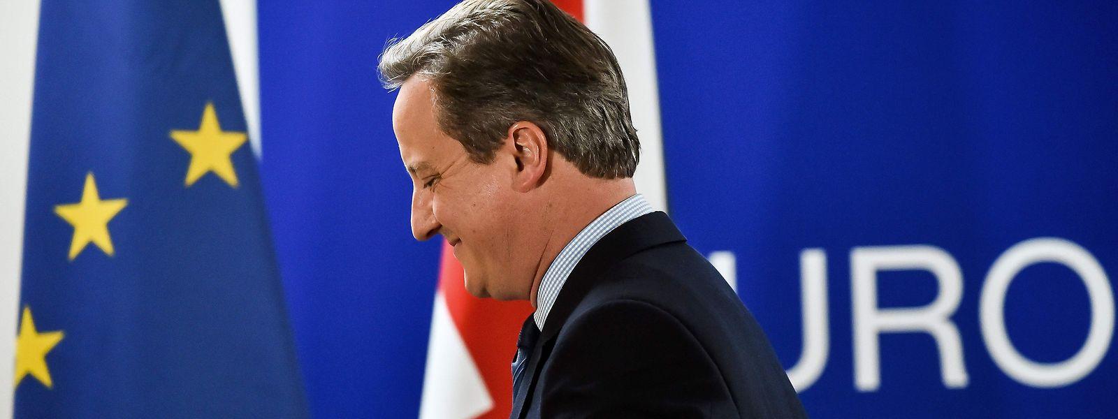 Der frühere britische Premier David Cameron äußerte Kritik an Johnsons Vorhaben.