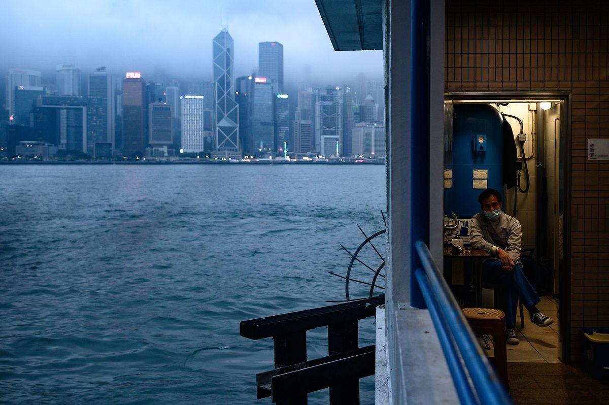 Auch in Hongkong ist die Angst vor dem neuen Virus allgegenwärtig.