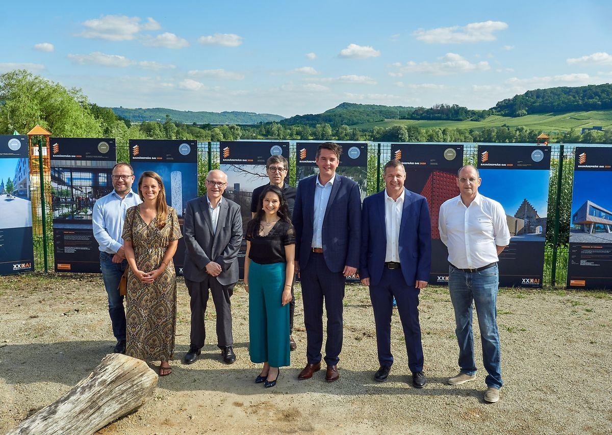 Die Open-Air-Ausstellung wurde vergangene Woche offiziell in Anwesenheit von Lex Delles, Minister für Mittelstand und Tourismus, eröffnet.