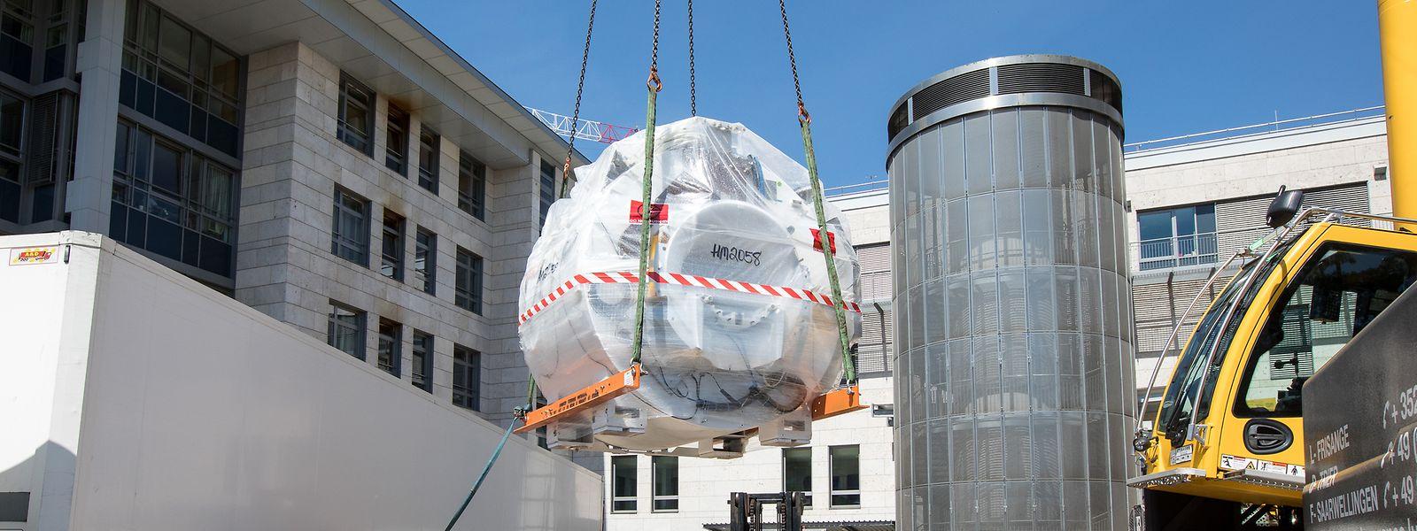 En juin dernier, par exemple, c'est l'hôpital Kirchberg qui recevait son nouvel IRM.
