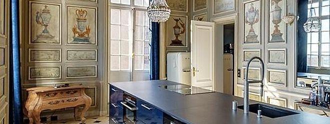 Les agents immobiliers n'hésitent pas à parler de «l'élégance des plus beaux châteaux» quand ils évoquent l'appartement appartenant à un membre de la famille grand-ducale.