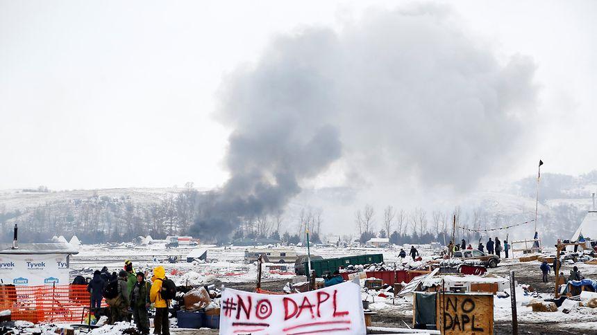Die umstrittente Pipeline im US-amerikanischen Dakota ist eines der Beispiele, das Votum Klima in seinem Bericht aufgreift.