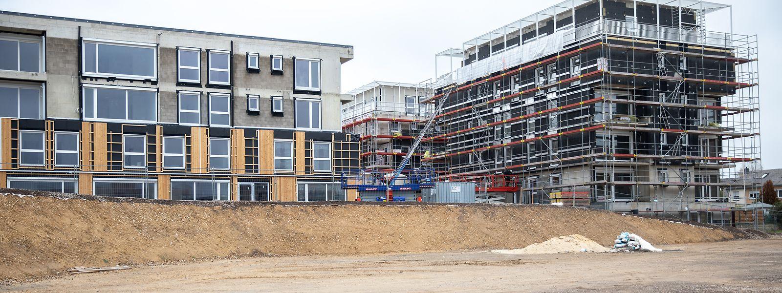 En principe, les appartements seront réservés aux primo-accédants des deux projets à venir sur le secteur du Réimerwee.