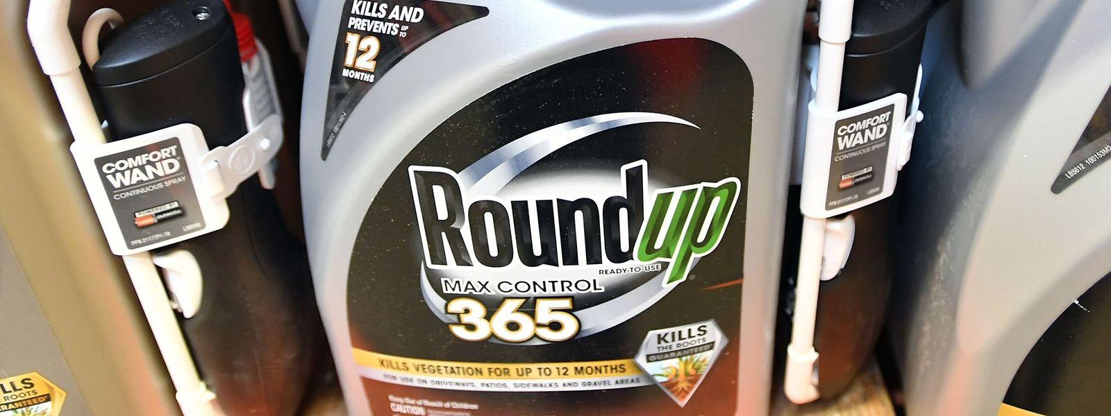 Roundup, ein Glyphosat-haltiges Mittel von Monsanto.