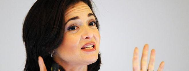 Die Geschäftsführerin von Facebook, Sheryl Sandberg.