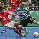 Sporting empata com Benfica e garante 'final four' da Liga dos Campeões de futsal
