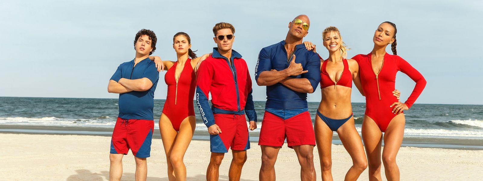 Baywatch: die größte Beachparty aller Zeiten.