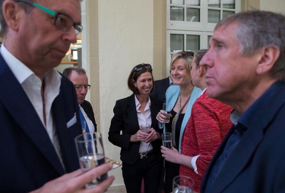 La ministre de la Santé, Lydia Mutsch (au centre de la photo), est jugée comme étant la 4e ministre la plus compétente et sympathique de l'actuel gouvernement.