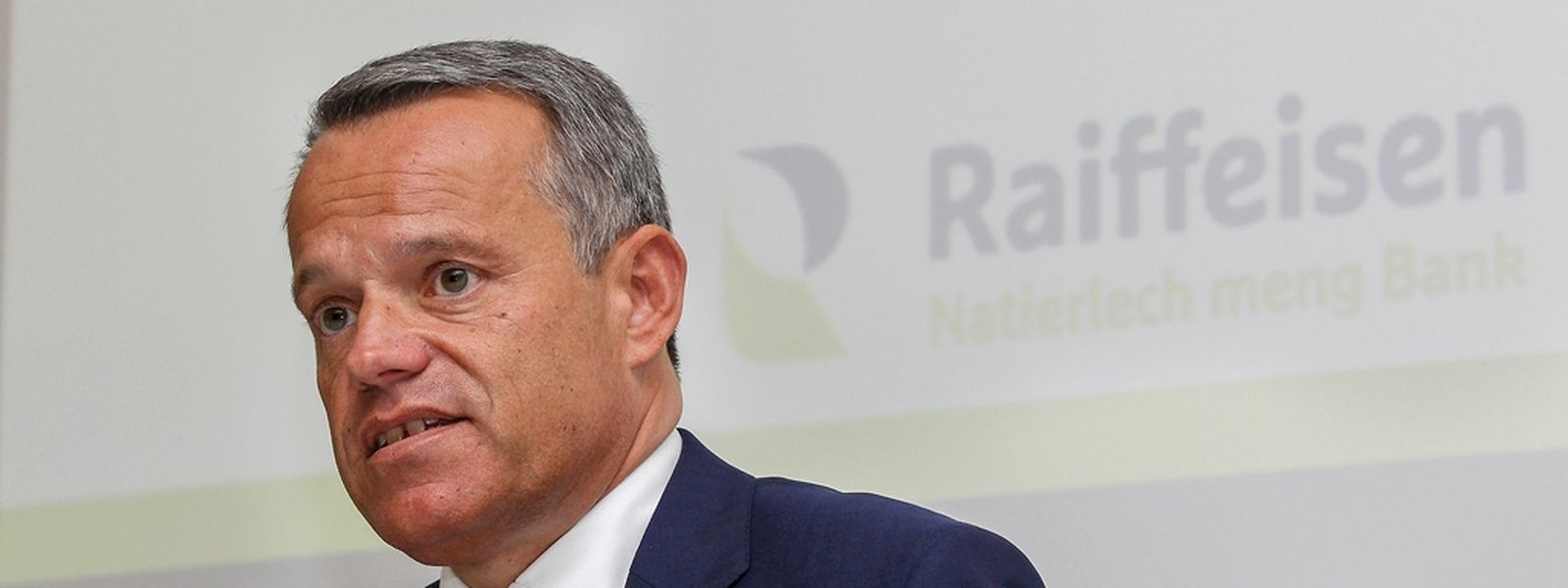 """Guy Hoffmann: """"Raiffeisen possède encore un fort potentiel pour gagner du terrain sur la concurrence"""". (Photo: Guy Jallay)"""
