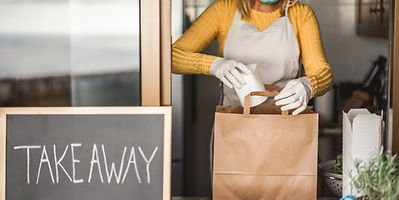 While restaurants remain closed, we can still support them by ordering a takeaway or delivery