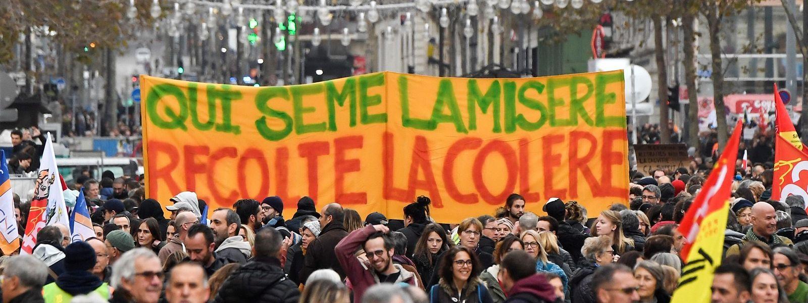 La mobilisation est massive ce jeudi en France contre la réforme des retraites