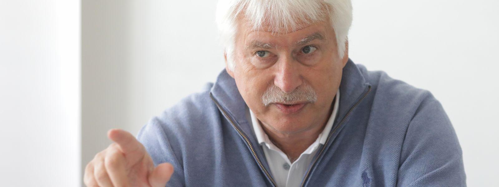 Heinz Thews a de l'expérience à revendre, mais à 65 ans, le stress fait toujours partie du jeu.