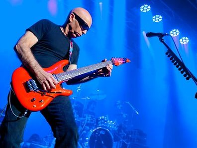 Joe Satriani à la Rockhal