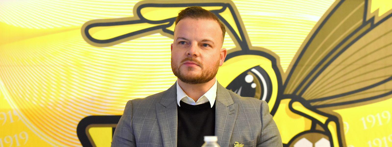 Progrès-Generaldirektor Thomas Gilgemann verteidigt die Interessen seines Clubs.