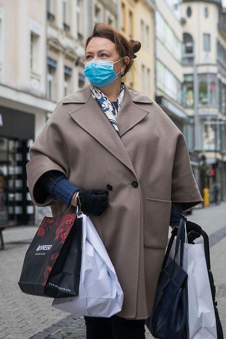 Natalia kam am Montag gezielt in die Hauptstadt zum Shoppen.