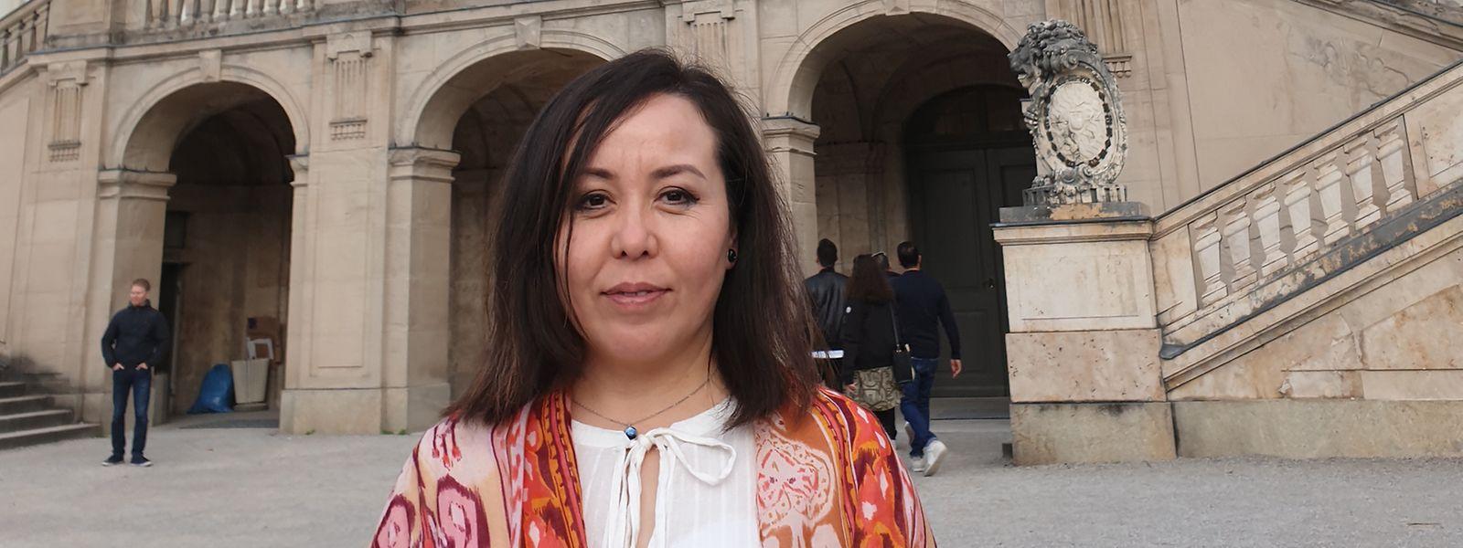 """Asiye Abdulaheb hat sich als Quelle für die als """"China Cables"""" bekannten Geheimdokumente zur Verfolgung und Inhaftierung von Uiguren in China zu erkennen gegeben"""
