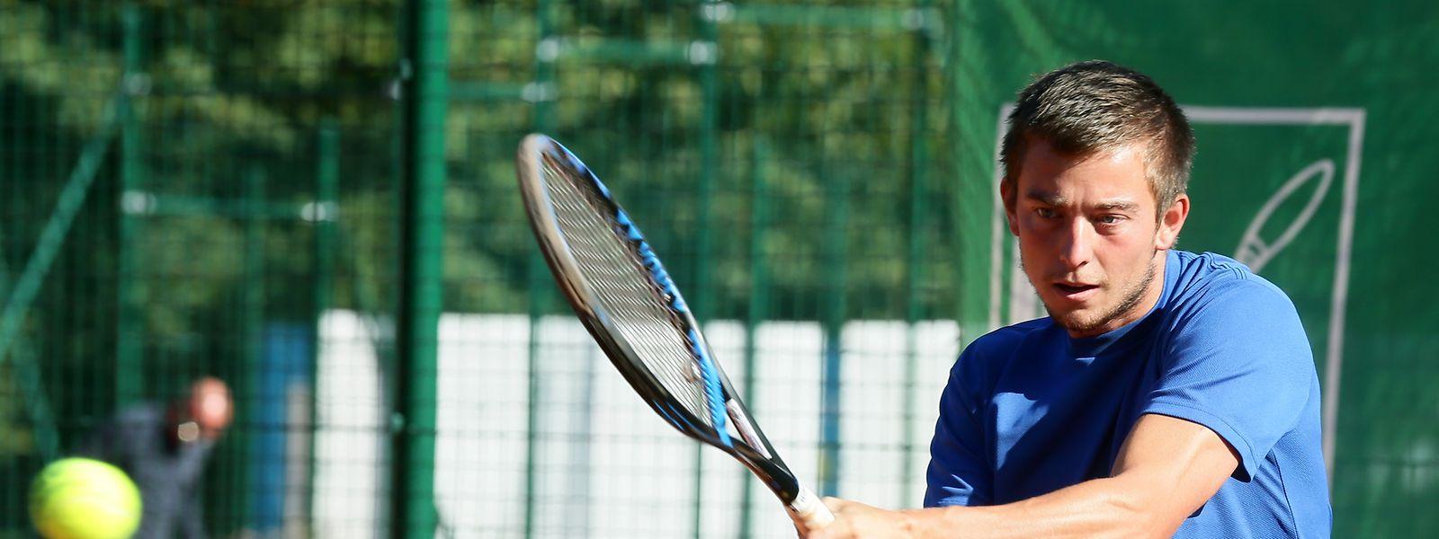 Christophe Tholl verlor mit 3:6 und 3:6 gegen die Nummer 36 der Welt, Hubert Hurkacz.