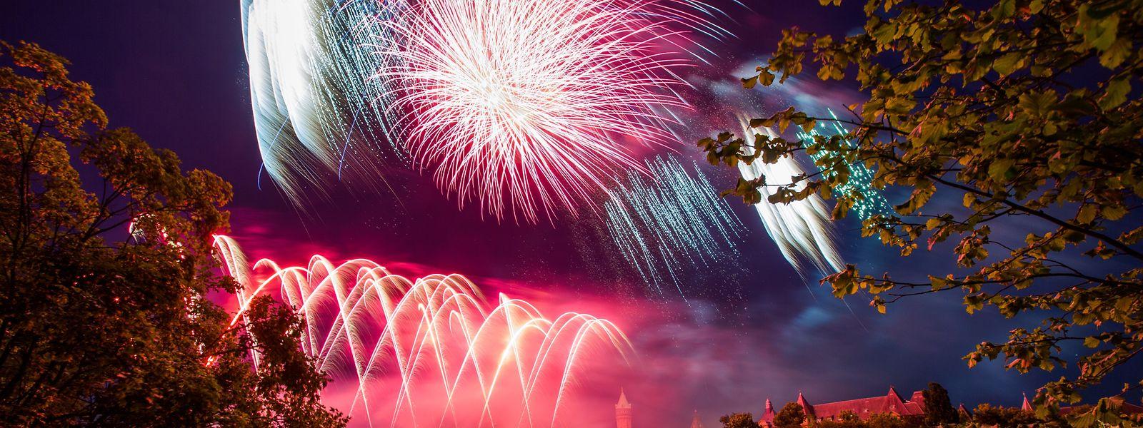 Auch in diesem Jahr Pflichtprogramm: Das Feuerwerk.