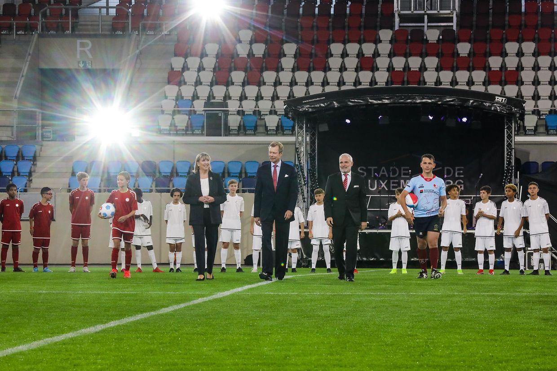 Am Samstag war die feierliche Einweihung des neuen Stadions in Kockelscheuer.