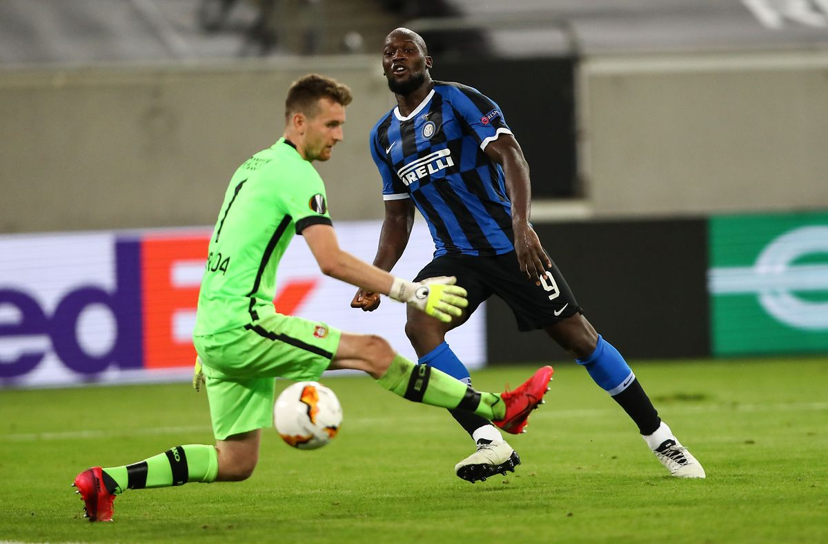 Romelu Lukaku a trouvé l'ouverture à la 21e minute face au Bayer.