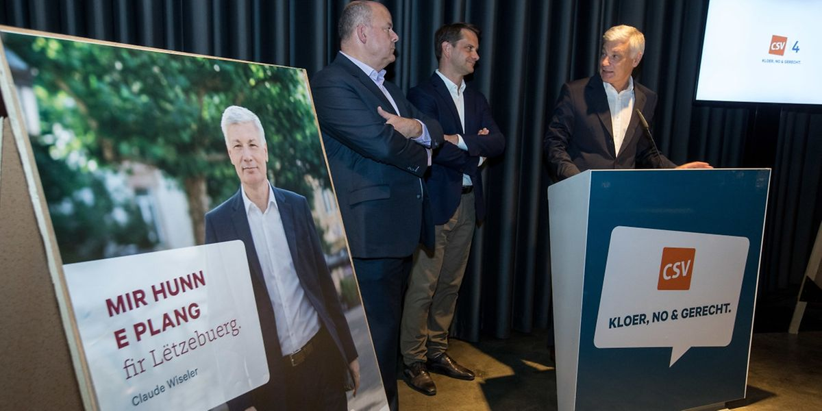 Die CSV geht mit einem Plan für Luxemburg in den Wahlkampf.