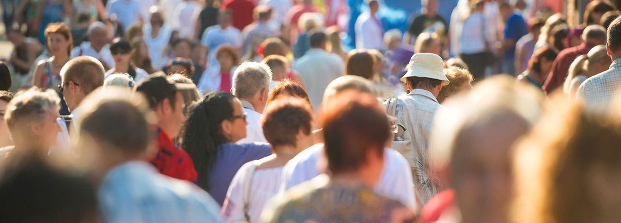 Au cours des cinq dernières années la population totale a augmenté de 12.5%